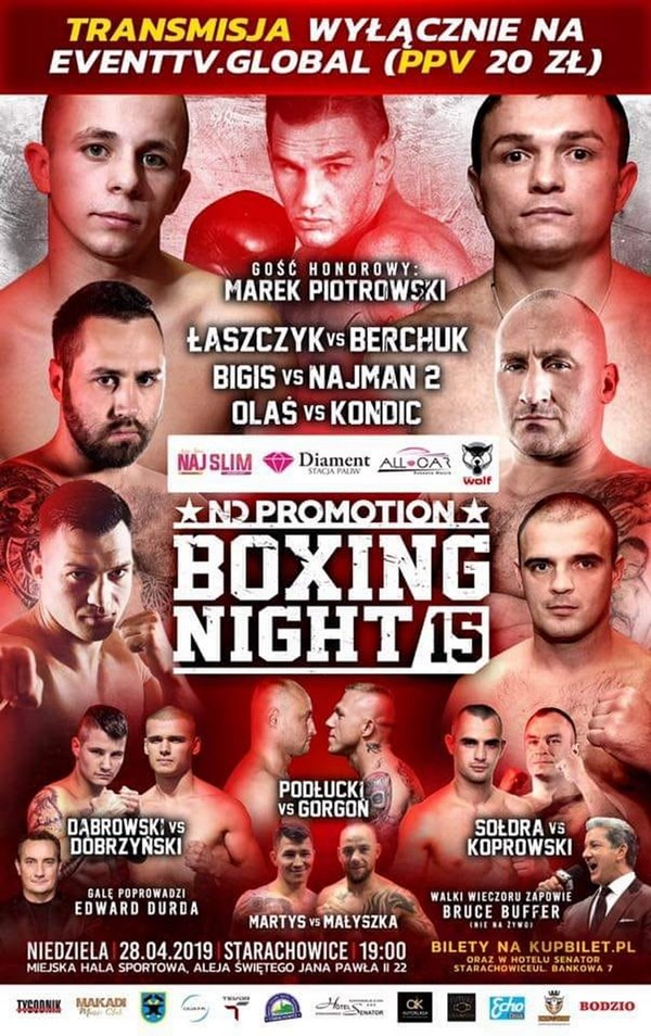boxing night 15
